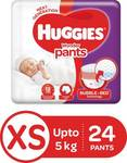 Huggies wonder pants daipers xs size 24qty for 99