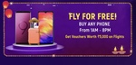 Win 5000rs flight voucher on buying mobiles between 1am to 8pm