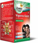Zandu Vigorex Gold Ayurvedic Daily Energizer - 20 Capsules