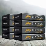 Cinthol Confidence+ Bath Soap, 100g (Pack of 8)