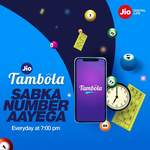 Jio Tambola - Play everyday at 7pm on MyJio app & win exciting prizes