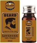 Alcamy lavender beard growth oil- 35 ml