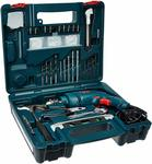 Bosch GSB 500W 10 RE Professional Tool Kit, MS and Plastic (Blue, Pack of 100) + 250 cb