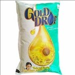 Gold drop Oil Pouch 1 ltr @ 1rs