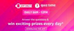 Amazon Quiz 31 October 2019 – Win Rs.5000 Amazon Pay Balance