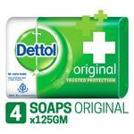 Dettol Original Soap, 125g (Pack of 4) Rs.113