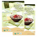 Pristine Beginnings Organic Millet Flakes - Mixed Millet, 300g (Pack of 2)