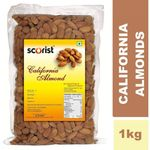 Buy California Almonds 1kg (Pack of 1) Flat 39% + Extra 20% OFF | Use Code: OFFER20