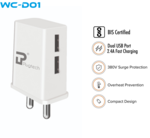Dual Port Wall charger @49/-FS