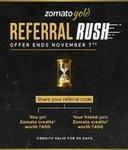 Zomato 28 hour Rush offer