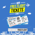 Flat 1250 instant discount on no min. international ticket booking of Air India flight