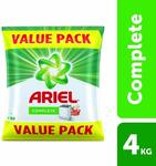 [Pantry]  Ariel Complete Detergent Washing Powder - 4Kg Value Pack