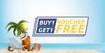Gyftr Bogo Offer Buy 1 Get 1 Free Complimentary Gift Voucher