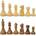Wooden  chess coins solid shining