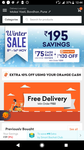 Grofers free delivery, min order 150