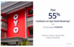 Paytm :- Get 55% Cashback upto 1000₹ on Oyo Hotel Booking + Get a 1000₹ Flight Voucher
