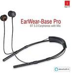 (Lightning deal) iBall Earwear Base Pro in Ear Wireless Earphones with Built-in Alexa Voice Assistance Function Rs.1199 @ Amazon