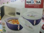 Nayasa Superplast Plastic Casserole, 1.5 litres, Purple
