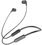 Infinity(JBL) Glide N100 Ultra Lightweight in-Ear Wireless Neckband with Dual EQ, Deep Bass and IPX5 Sweatproof (Charcoal Black)