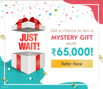 Mystery Gift Referral Challenge - Chance to win gifts worth Rs65000