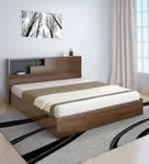 Borden Queen Size Bed by @home