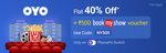 Get flat 40% Off + ₹500 bookmyshow voucher on Hotel Booking only on PhonePe Switch