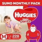 Huggies Wonder Sumo Pack flat 45% off + Buy 2 items save 5%; Buy 3 or more save 10%