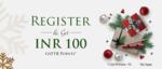 Get 100 Gyftr points on New registration