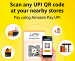 Amazon - Scan & Pay 100 and Get Flat 35/- back [1st Transaction in Dec]