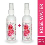 (Buy 1 Get 1 OFFER): Dalmia Rose Water spray bottle 100ml @ just Rs. 85