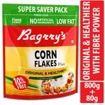 Bagrrys Corn Flakes, 800g (with Extra 80g) Rs.175
