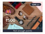 Myntra 250, 500, 1000 gvs are back. Redeem your insider points.