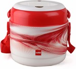 Cello Mark 2 Plastic Lunch Box Set, 390ml, Set of 2, Red Rs.265 at Amazon