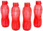 Signoraware Aqua Fresh Plastic Water Bottle, 500ml, Set of 4 at Rs.165 @ Amazon