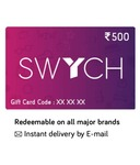 SWYCH gift card @10% discount with sbi credit card (BACK AGAIN)