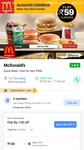 Mcdonald's 150rs voucher at 37.5rs in magicpin