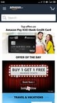 50% discount upto 300 on movie ticket and 50% discount upto 200 on food @ Book my show  using Amazon pay icici bank credit card