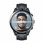 [Get Free Gift][Face Unlock] Zeblaze THOR 5 PRO 3G+32G Face Identify Dual Camera Lock Screen Pattern 4G LTE Smart Watch Phone Black