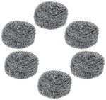 [Pantry] Gala Steel Scrubber Combo Set (Pack of 6) Rs.117