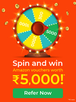 Fundsindia - Lucky Spin referral contest
