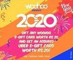 Amazon Lootz Exclusive Loot Offer : Buy Rs. 20 Woohoo Gv and Get Rs. 20 Uber Gv for Free