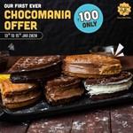 The Belgian Waffle Co. : Chocolate waffles @₹100 (Jan 13-15th)