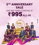 vistara anniversary flight deals