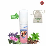 Mosquito Repellent Fabric Roll On with 6 Mosquito Patches