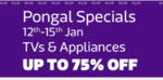 Pongal Special Sale on Flipkart.