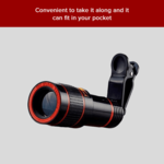 72%off  12X Zoom Wide Angle HD Telescope Lens For Mobile Camera