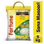 Fortune Sona Masoori Rice, 5 kg