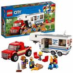 38% off on LEGO City Vehicles Pickup and Caravan Building Blocks for Kids 5 to 12 Years ( 344 Pcs) 60182 (Multi Color