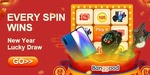 Banggood Spin and Win Lucky Draw Jackpot