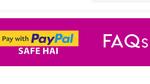 Myntra - Paypal 50% Cashback voucher upto Rs 400 (22nd Jan - 31st March 2020)